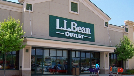 LL Bean Outlet Store